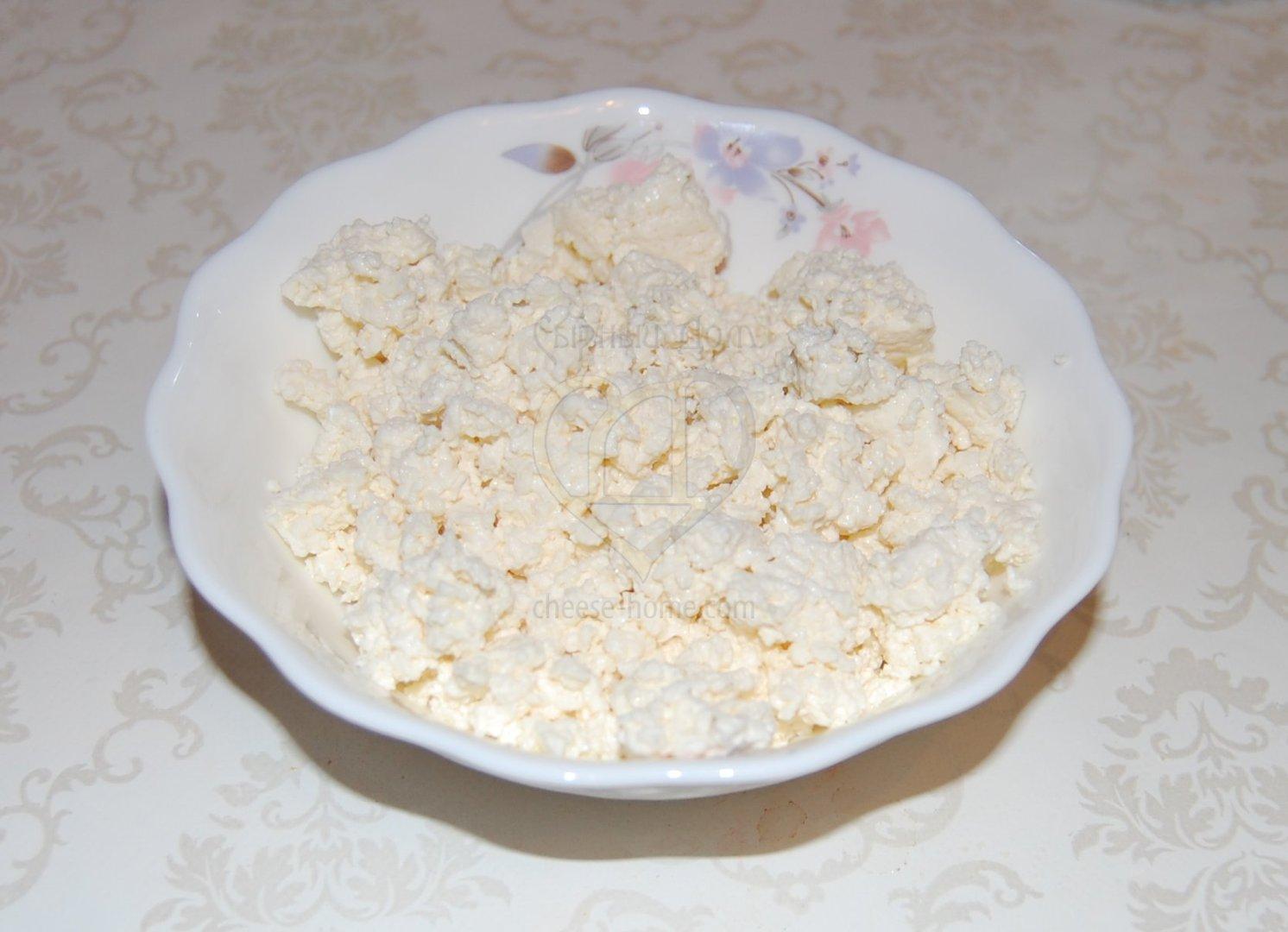Домашний творог рецепт из кислого молока пошагово